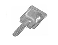 Stainless Steel Plain Damper Clip