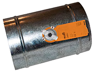 Zone Control Damper Tubes with Power-Open/Power-Close BELIMO® Motor