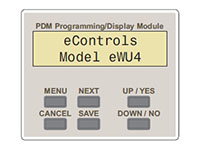eControls Model eWU4P Wired/Wireless Zoning Panels for New and Existing Homes and Light Commerciall - 5