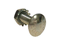 Carriage Bolt and Locking Nut for V-Blades