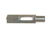 1/2 Inch (in) Size Round V-Blade Slide Short Pin with V-Base